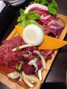 Koreaanse BBQ - vlees