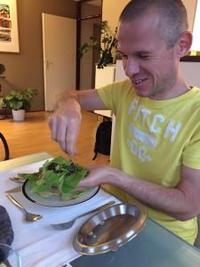 Dave eet Bulgogi