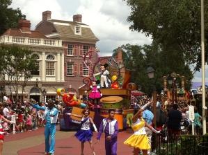 Parade in Magic Kingdom