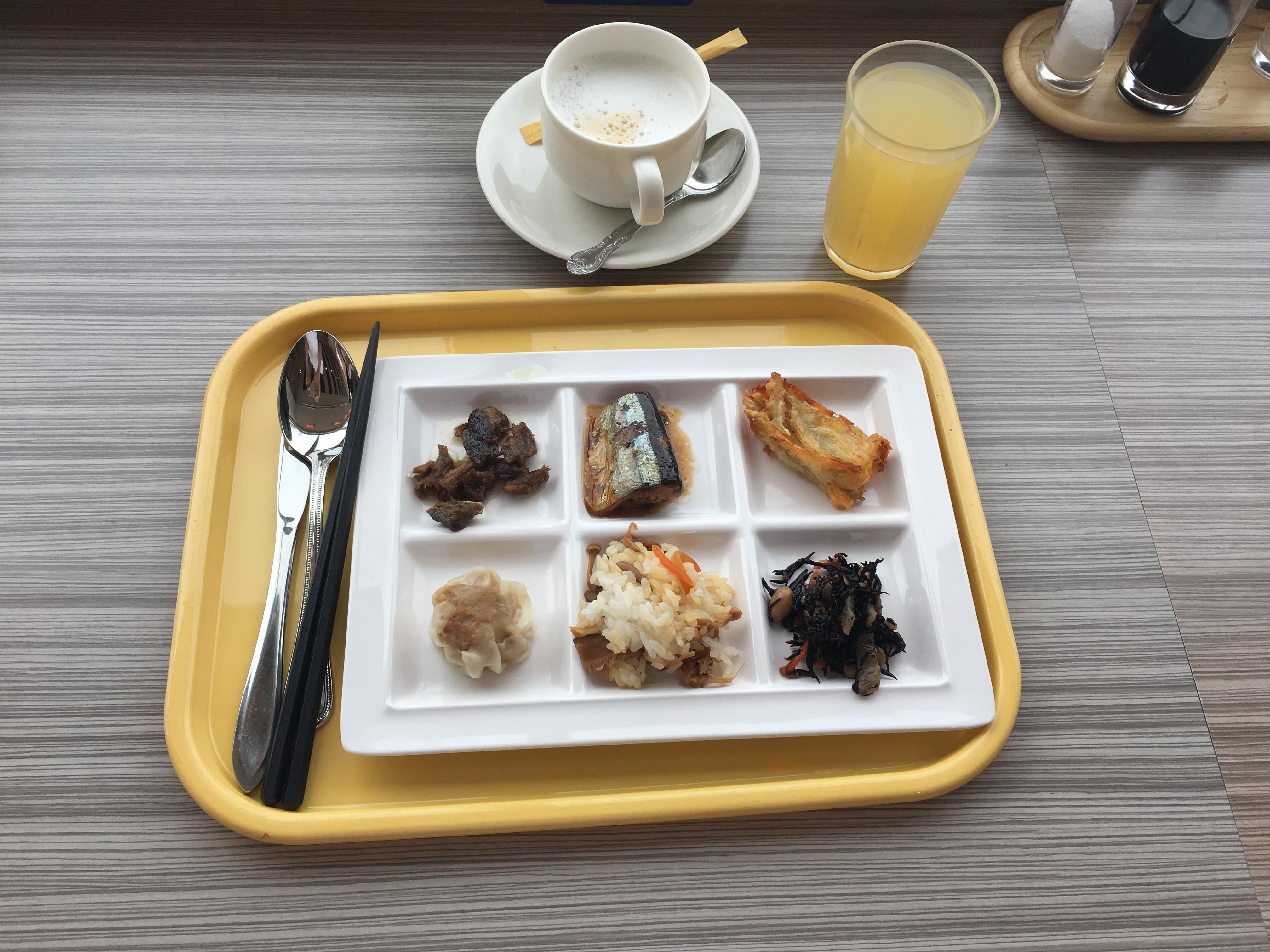 Ontbijten in Matsumoto