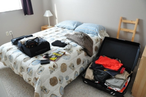 Bagage in koffer