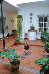 Binnenplaats van hotel Maestre, Cordoba