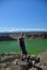 Dave bij The Cove Palisades State Park