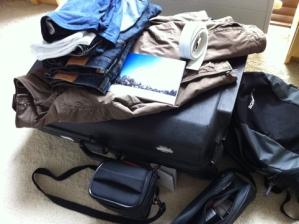 De koffer voor Andalusië is gepakt...