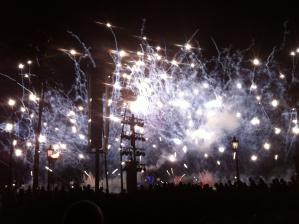 Vuurwerk in Magic Kingdom