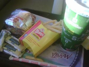 Hamburgers van Wendys