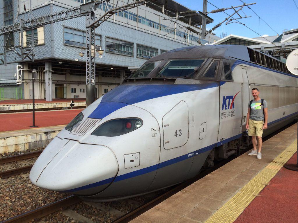 De KTX trein