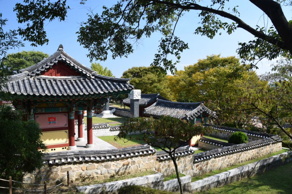 Doorkijkje in Jinjuseong Fort