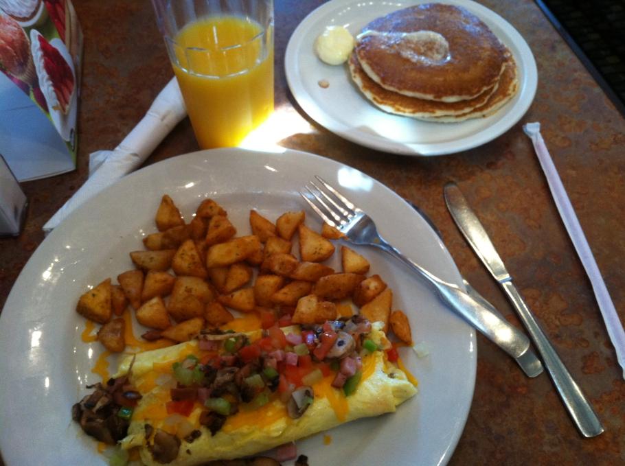 Ontbijtje bij Perkins