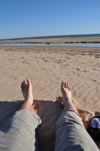 Op het strand bij Matalascañas