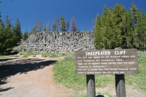 Sheepeater Cliff, Yellowstone