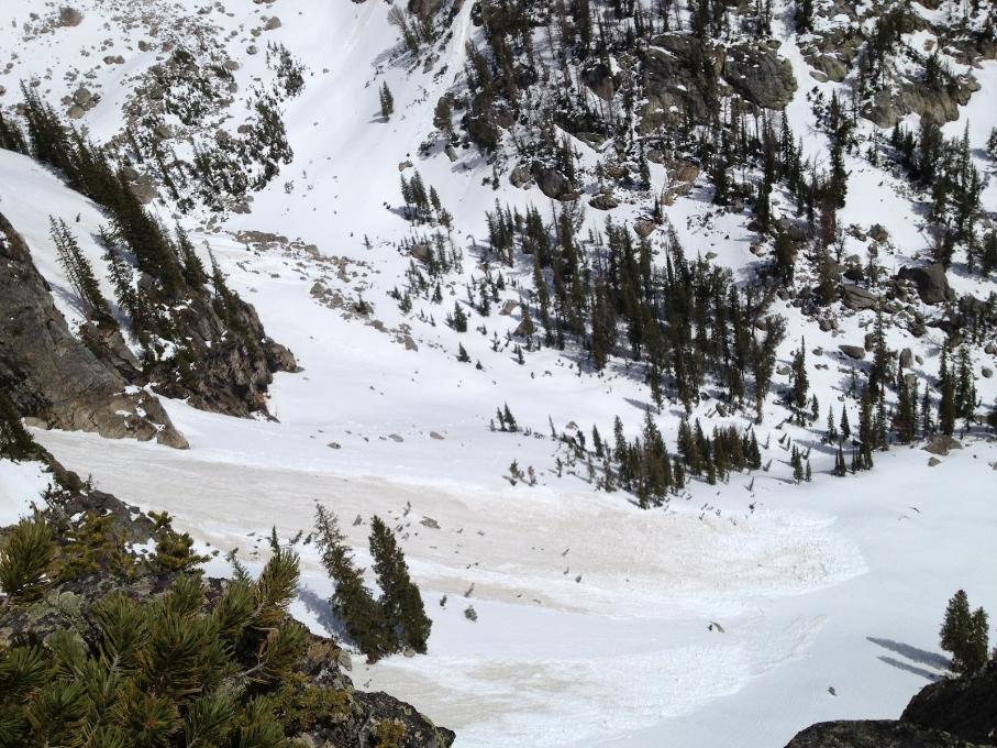 Sneeuw in Grand Teton National Park