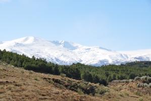Sneeuw in Sierra Nevada