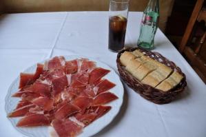 Stokbrood met Iberico ham
