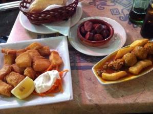 Tapas eten in Cordoba