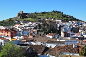 Uitzicht over Aracena