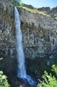 Waterval bij Twin Falls